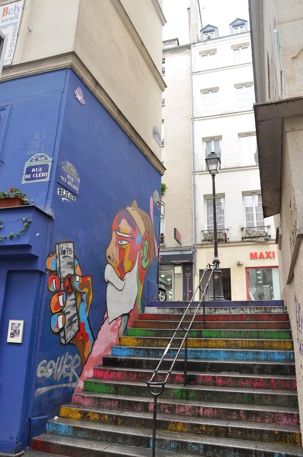 Paris en records - la rue la plus courte