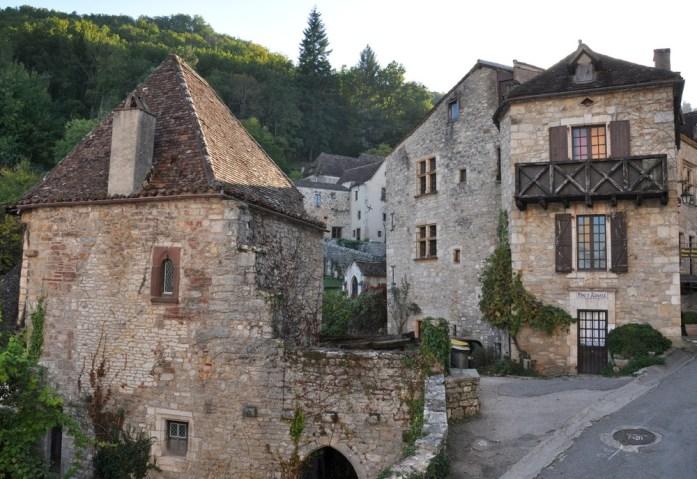 Vieilles maisons de Saint Cirq-Lapopie