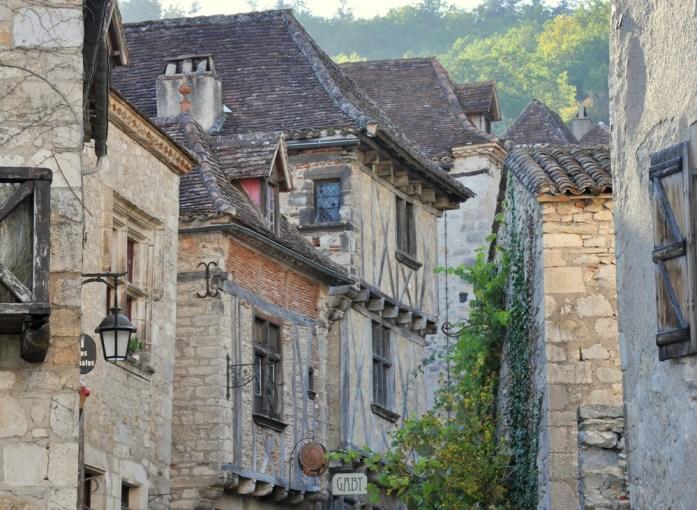 Ruelle de Saint Cirq-Lapopie