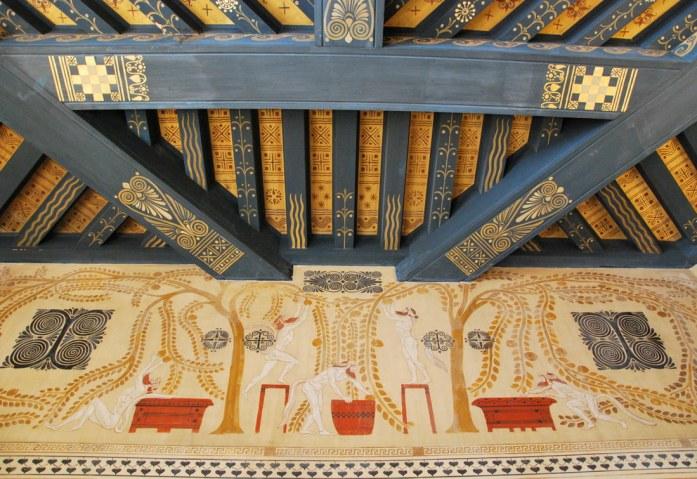 Beaulieu - plafond de la villa Kerylos