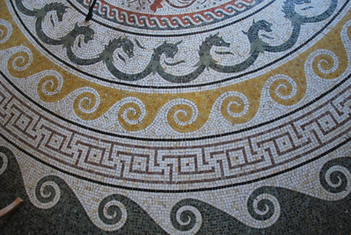 Beaulieu - mosaïque de la villa Kerylos