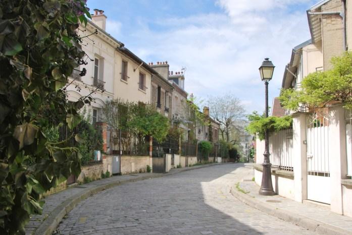 Paris au vert - Allée de La campagne à Paris