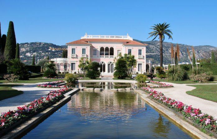 Cap Ferrat - villa Ephrussi de Rothschild