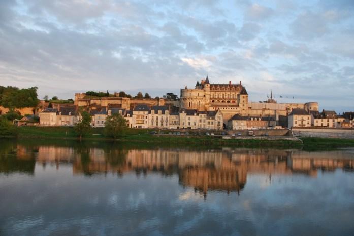 La Loire à vélo - château d'Amboise