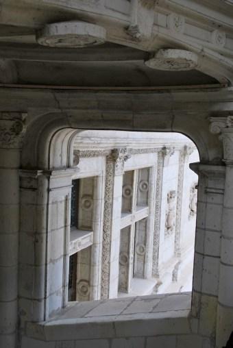 Château de Blois - escalier