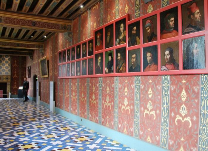 Château de Blois - galerie de la Reine