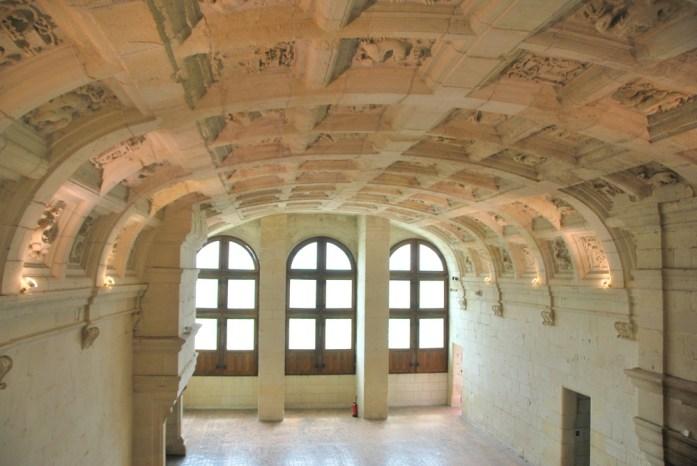 Château de Chambord - plafond à caissons