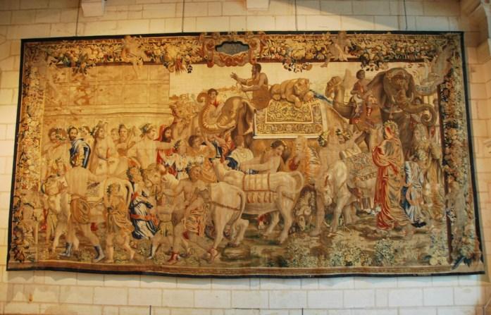 Château de Chambord - tapisserie murale