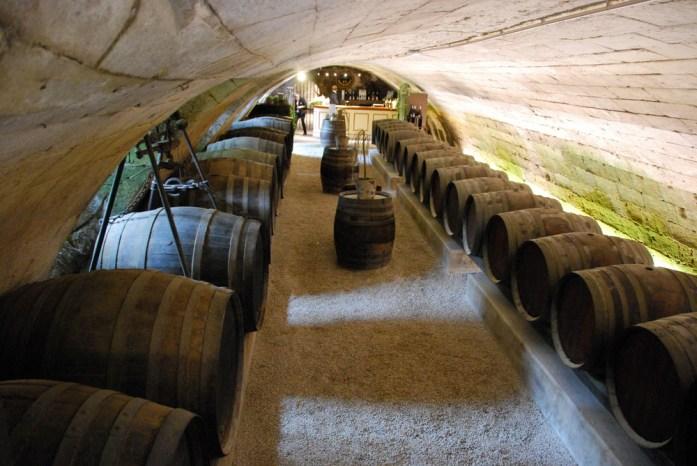 Circuit des châteaux de la Loire - les caves de Chenonceau