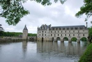Circuit des châteaux de la Loire - Chenonceaux en bord de Cher