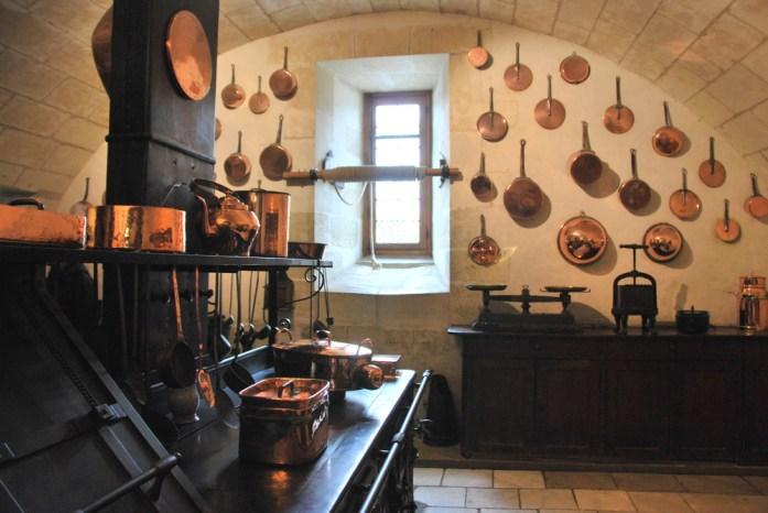 Circuit des châteaux de la Loire - les cuisines de Chenonceau