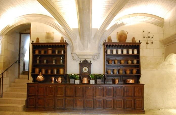 Circuit des châteaux de la Loire - cuisines de Chenonceau