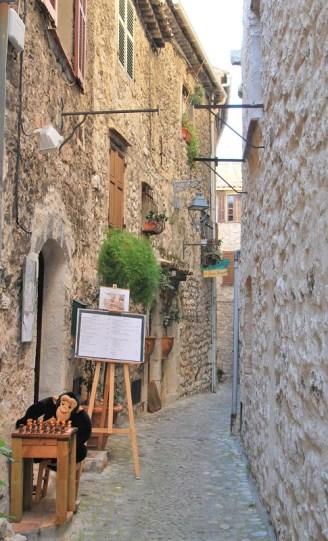 Saint Paul de Vence - ruelle d'artiste