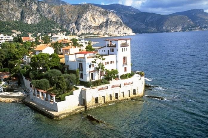Extérieur de la villa Kérylos