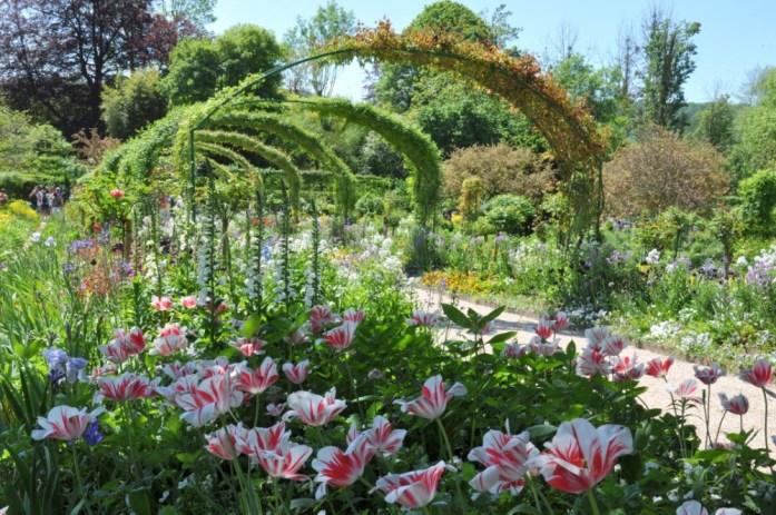 Jardin de Monet à Giverny - arche