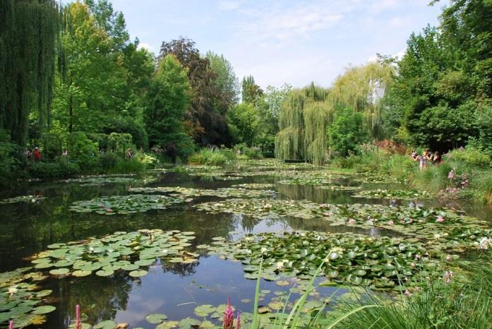 Une journée autour de Giverny - bassin aux nymphéas