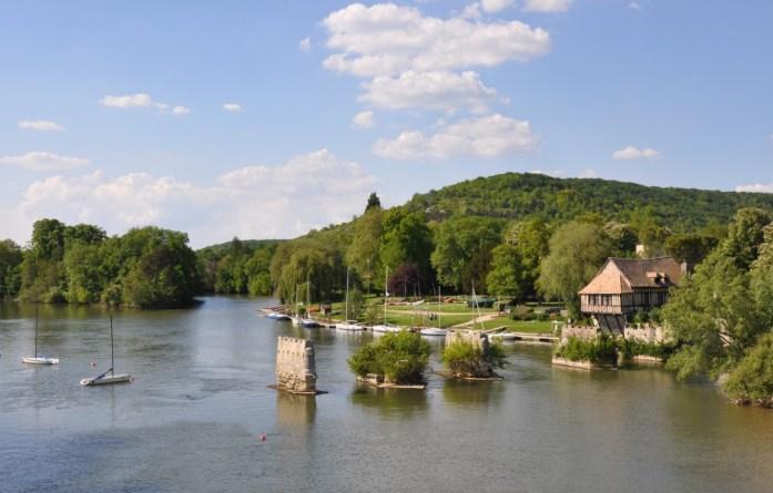 Une journée autour de Giverny - la Seine à Vernon