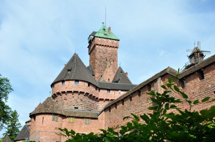 Le Haut Koenigsbourg en Alsace - le donjon