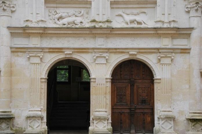 Château d'Azay-le-Rideau - porte d'entrée