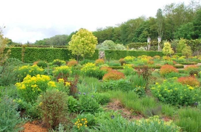 Jardins du château de Villandry - le jardin du soleil