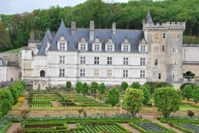 Le château et le potager de Villandry