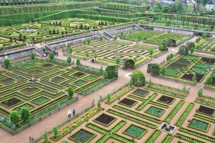 Jardins du château de Villandry - le potager