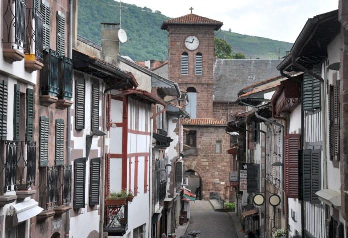 La Marinière en Voyage - église de Saint Jean-Pied-de-Port