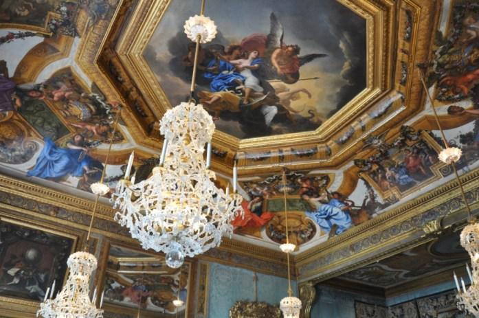 La Marinière en Voyage - Plafond de Vaux le Vicomte