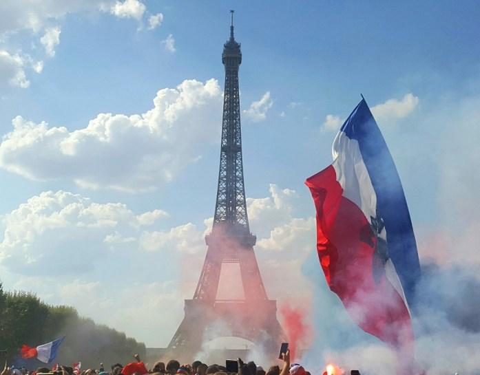 La Marinière en Voyage - finale de la coupe du monde