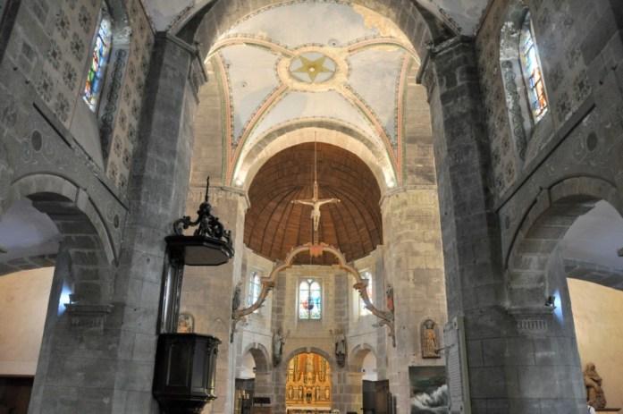 La Marinière en Voyage - intérieur de l'église de Barfleur
