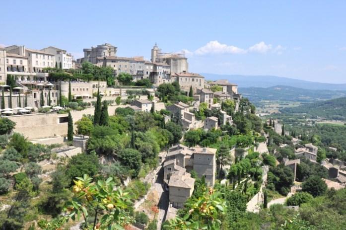Vue panoramique sur Gordes