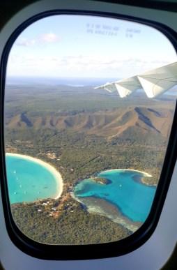 La Marinière en Voyage - l'île des pins vue du ciel