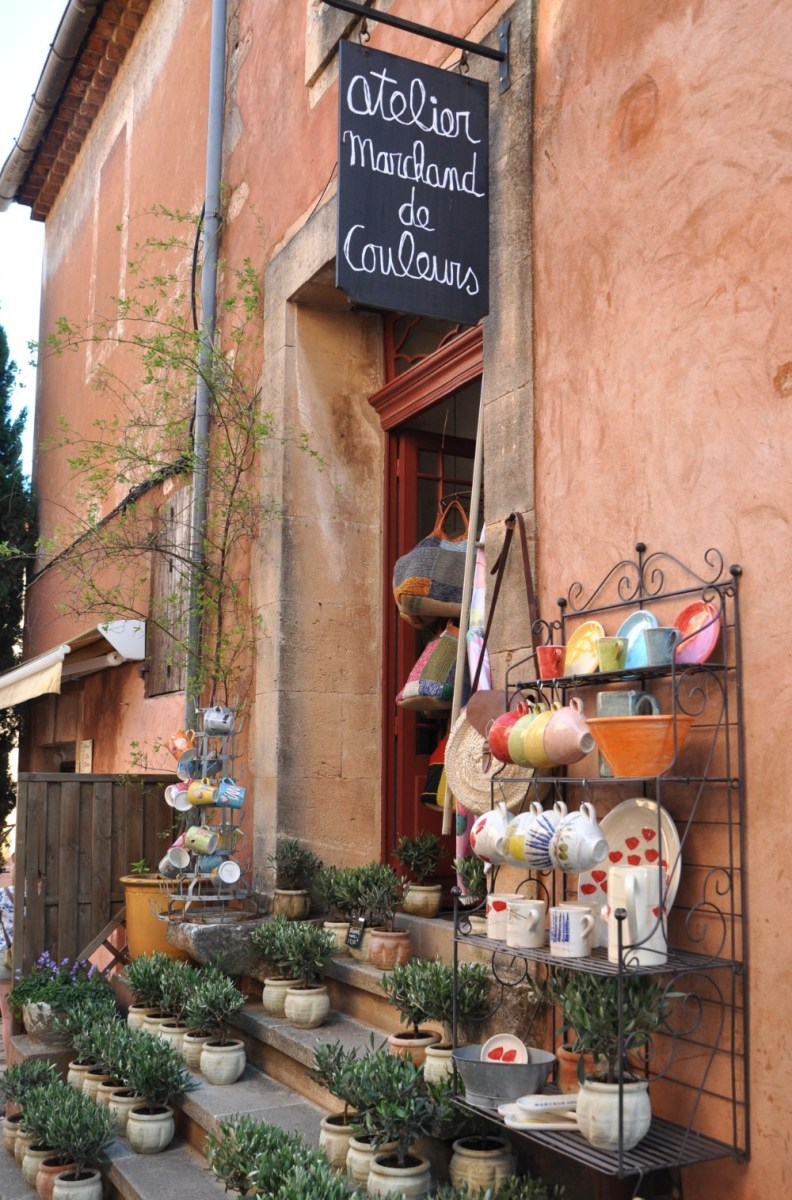 Boutique à Roussillon