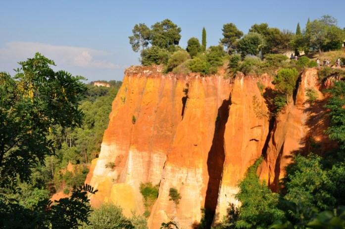 Falaises des ocres de Roussillon