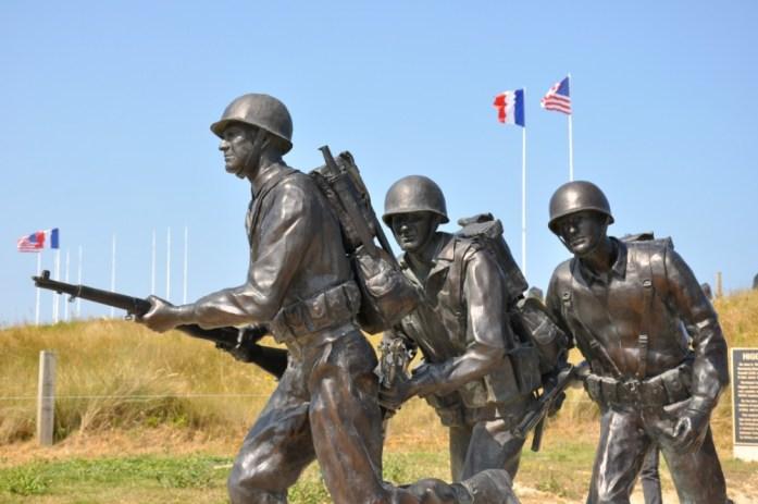 La Marinière en Voyage - soldats à Utah Beach