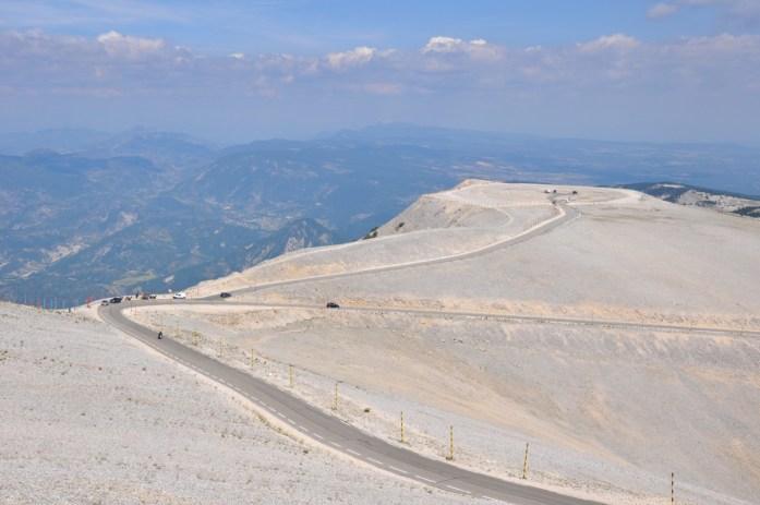 La Marinière en Voyage - montée au Mont Ventoux