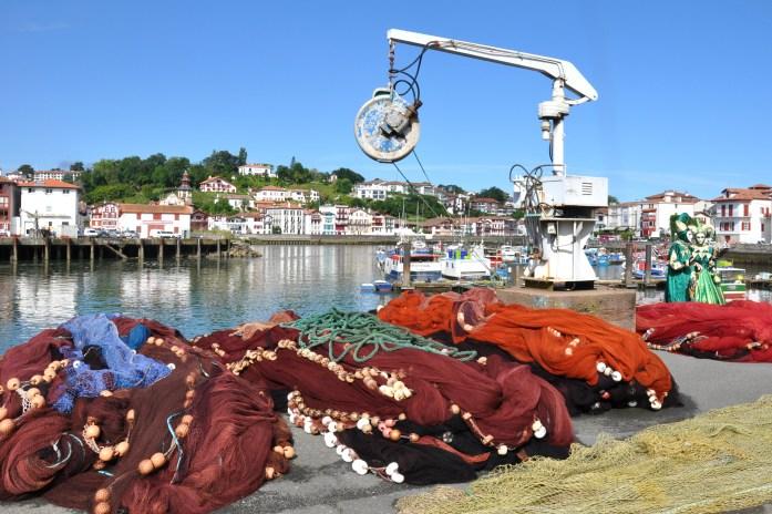 La Marinière en Voyage - sur le port de Saint-Jean-de-Luz