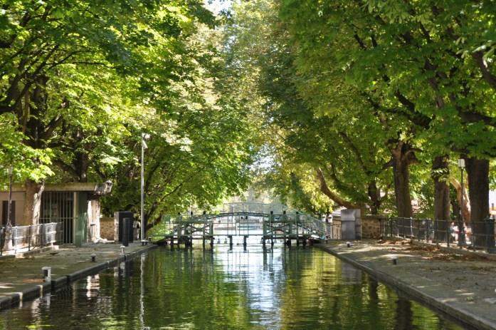 Que faire à Paris en automne - croisière sur le canal Saint Martin