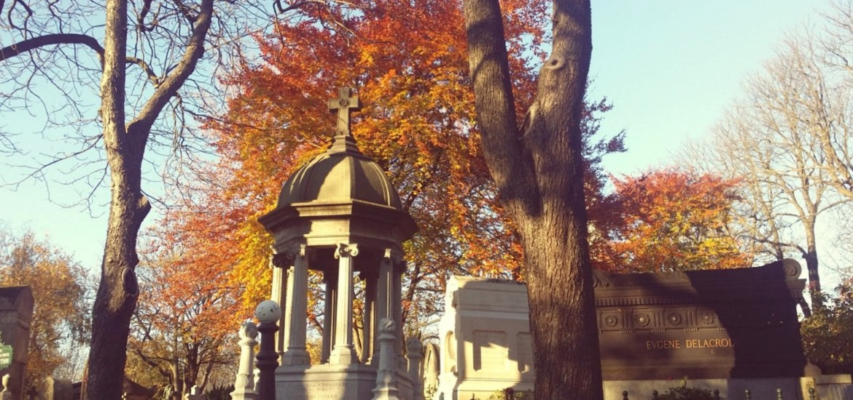 Que faire à Paris en automne - cimetière du Père Lachaise