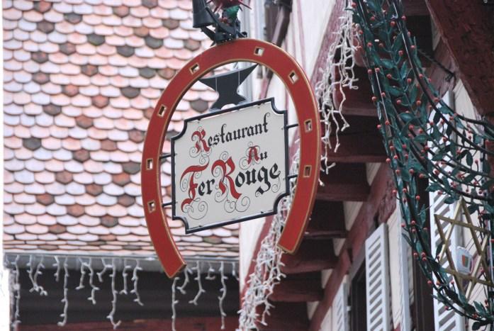 La Marinière en Voyage - enseigne de restaurant à Colmar