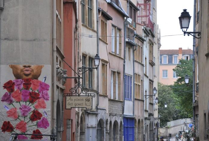 La Marinière en Voyage - Rue à Saint Georges dans le Vieux Lyon