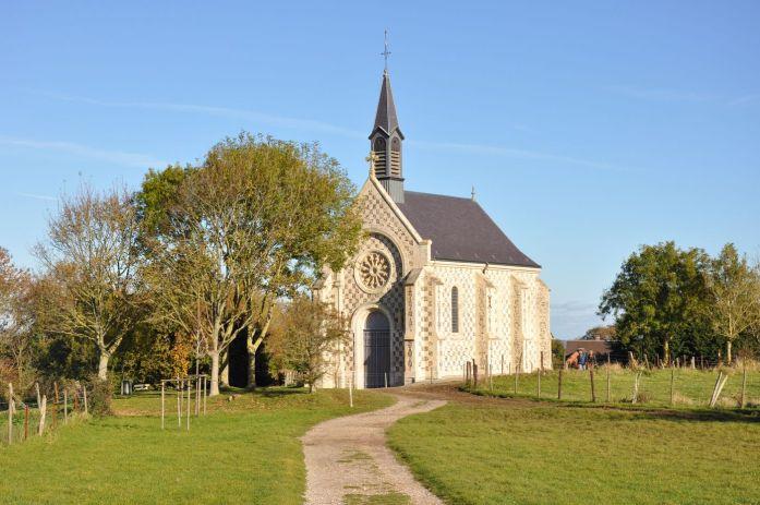 Chapelle des marins à Saint Valéry sur Somme