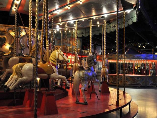 Musées parisiens insolites - Carroussel du Musée des Arts forains