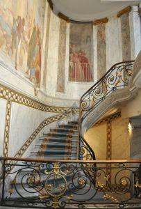 Musées parisiens insolites - escalier du Musée Jacquemart-André