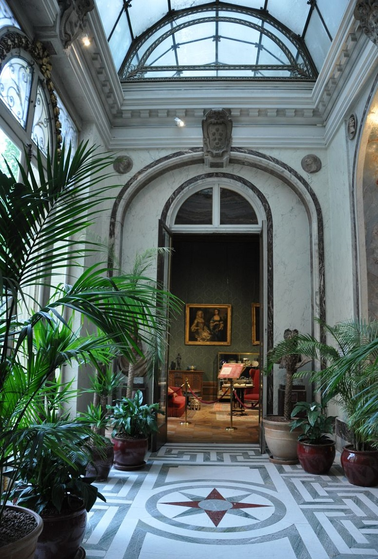 Musées parisiens insolites - jardin d'hiver du Musée Jacquemart-André