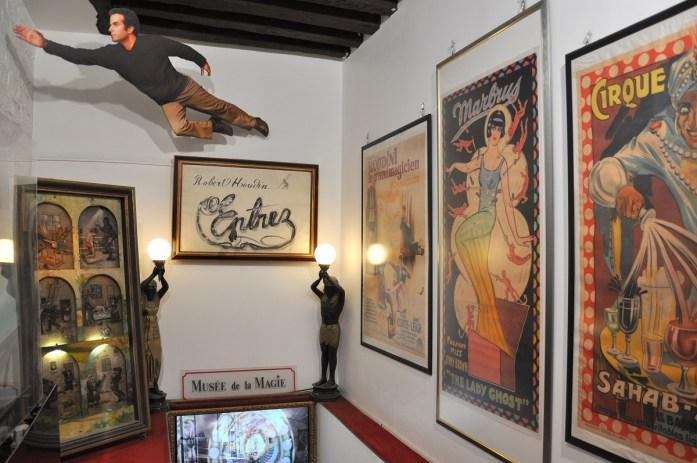 Musées parisiens insolites - entrée du Musée de la Magie