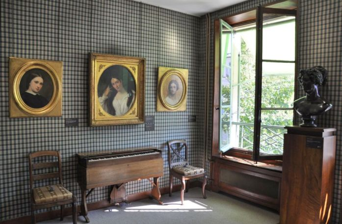 Musées parisiens insolites - Musée de la Vie romantique