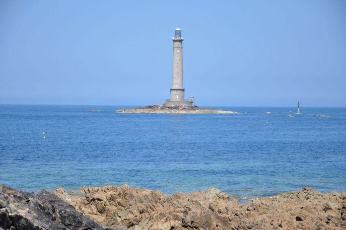 Route des Caps de la Manche - phare de Goury