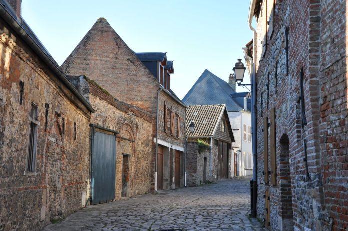 Vélo dans la Baie de Somme - Rues médiévales de Saint Valéry sur Somme