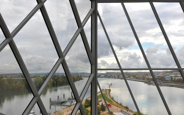 Week-end à Lyon : vue depuis le musée des Confluences